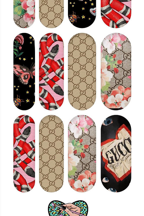 GUCCI SNAKE Decals
