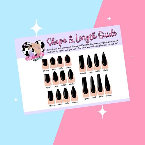 Shape/Length Guide
