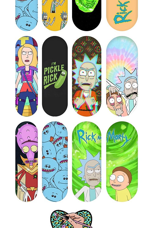 RICK AND MORTY Decals