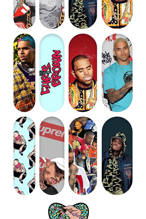 CHRIS BROWN Decals