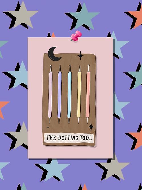 Tarot Card The Dotting Tool