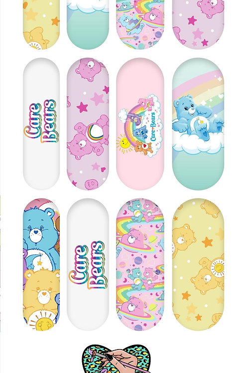 CARE BEARS Decals