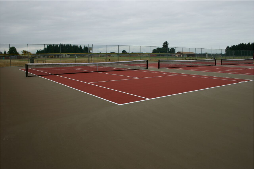 Prairie HS Tennis Courts*