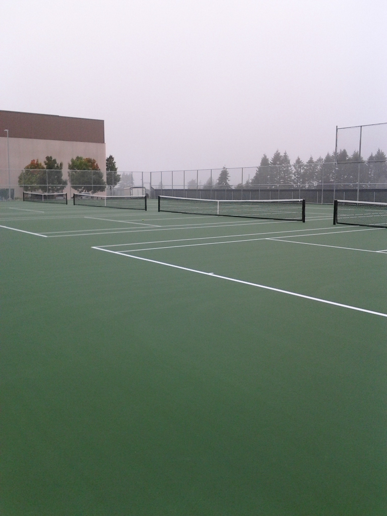 Evergreen HS Tennis Courts