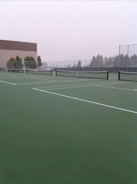 Evergreen High School Tennis Courts