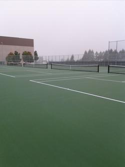 Evergreen High School Tennis Courts