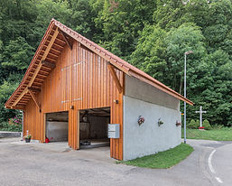 2019 Planung, Baueingabe, Totalsanierung Remise: Fassade, Dach und Schopfanbau