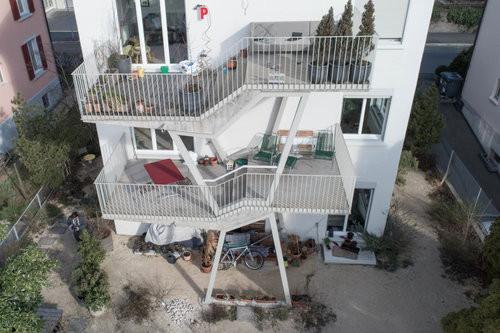 Terrassenbau in Zusammenarbeit mit Koller Metallbautechnik