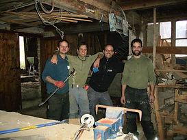 2013 Bezug und Räumung der zukünftigen KOBAU Werkstatt