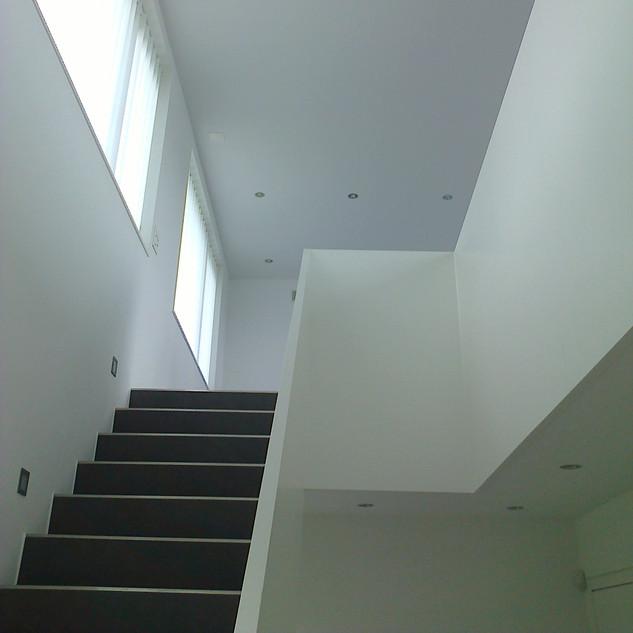 Treppenaufgang weiss