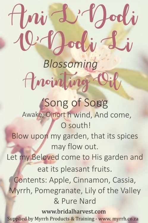 Blossoming- Anointing oil