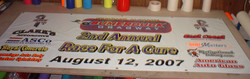 Event advertising banner