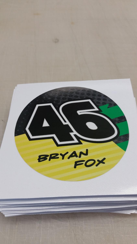 race team sticker