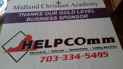 Donation auction banner