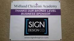 Fundraising Sponsorship Banner