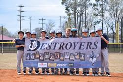 Sports Team Sponsor Banner