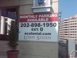 Parking Garage banner