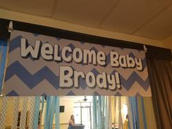 Baby Banner Shower Birthday