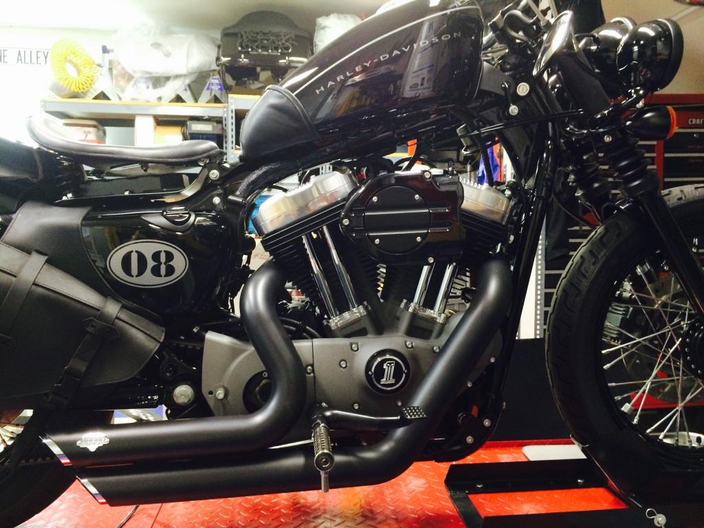 custom motorcycle decal