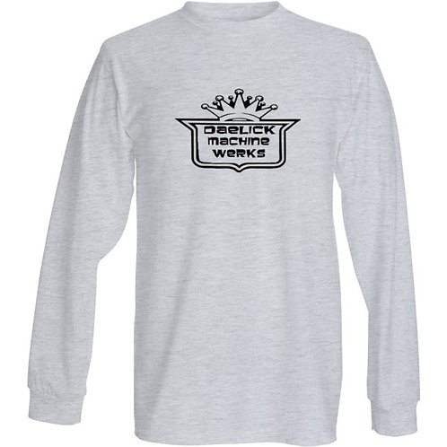 Mens Long Sleeve Grey
