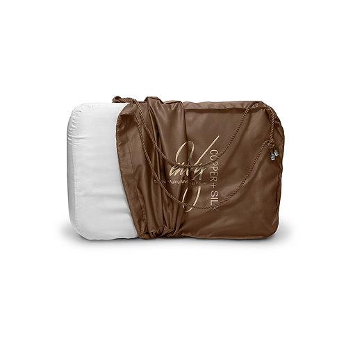 enVy Copper + Silk Pillow