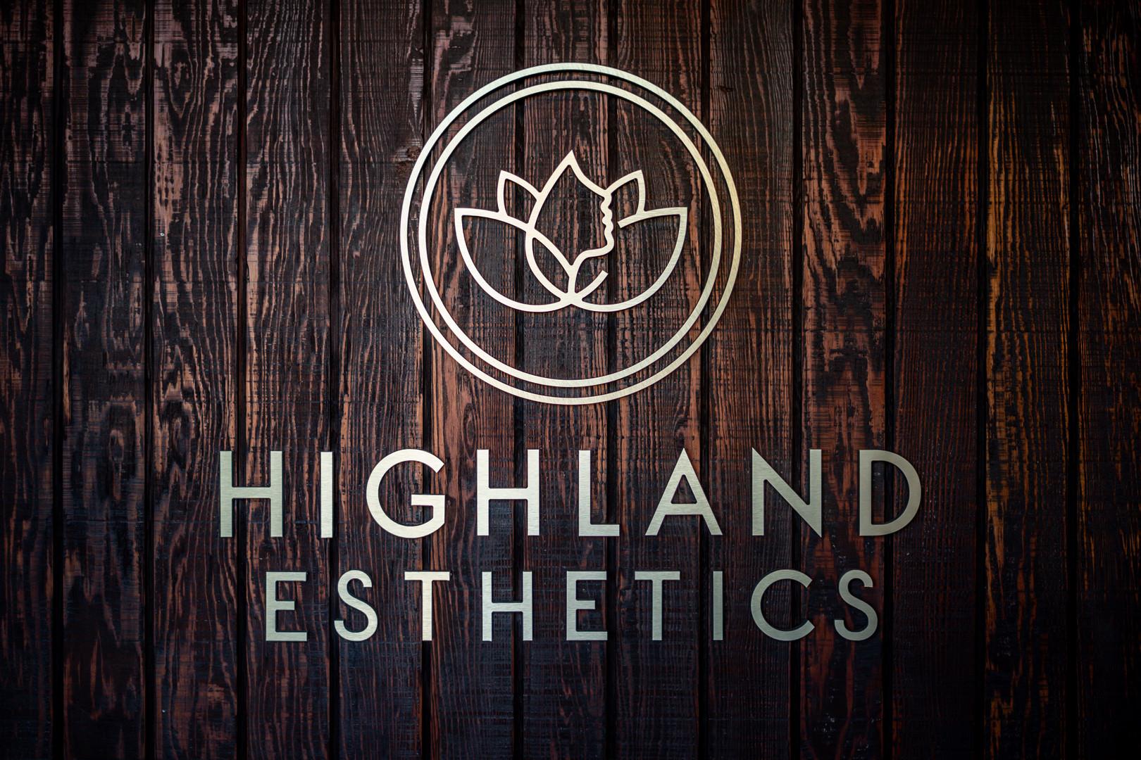 Highland Esthetics Entrance