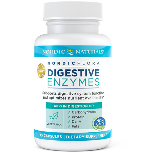 Nordic Naturals Digestive Enzymes, 45ct