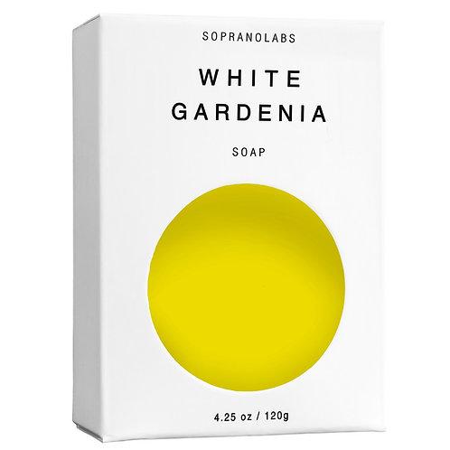 SopranoLabs White Gardenia Vegan Soap