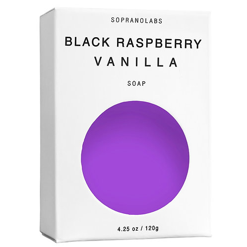 SopranoLabs Black Raspberry Vanilla Vegan Soap