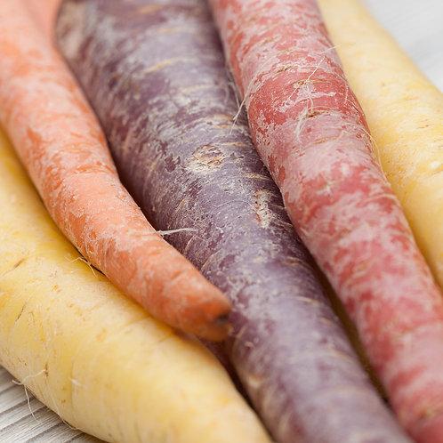 Carrots, Rainbow (Lb)