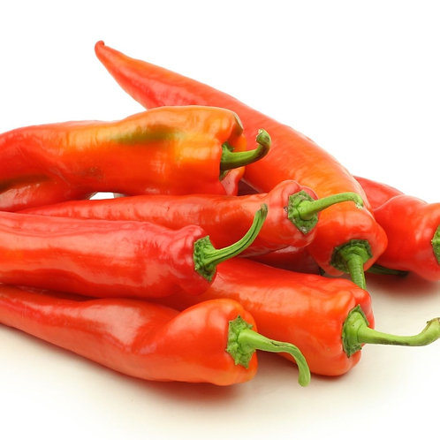 Peppers, Red Long Mirasol (Lb)