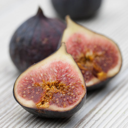 Figs,  Black, 1 Lb Clamshell