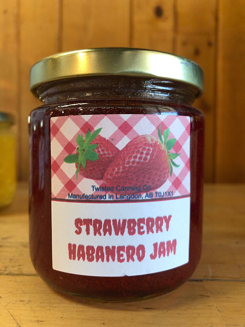 Jam, Strawberry Habanero (250ml)