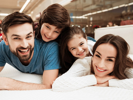 Mattress Store Campaign: A Sleepover!