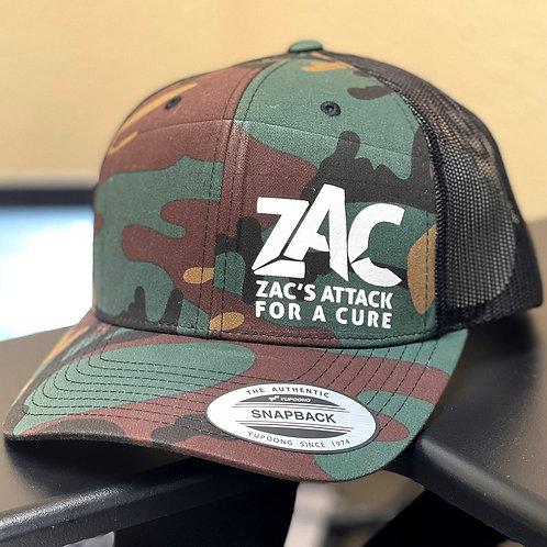 Zac's Attack Trucker Cap