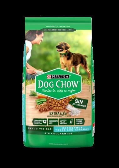 Dog Chow SIN COLORANTES CACHORROS