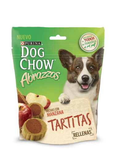 Dog Chow Abrazzos Tartitas