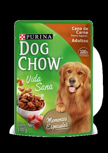 Dog Chow Cena de Carne Trozos jugosos