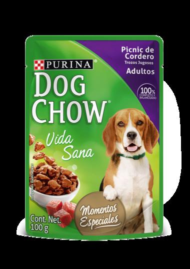 Dog Chow Picnic de Cordero Trozos Jugosos