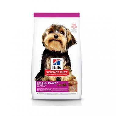 Hills Adult Small Paws  Lamb & Rice