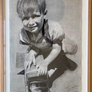 Karen Goltz 'The Boy @4'