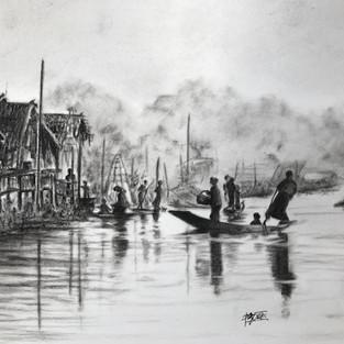 Gaik Oei 'Life on Inle Lake -Myanmar'