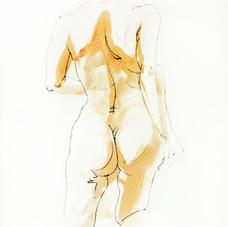 Roz McQuillan female-torso-from-back,-ink-and-yellow.jpg