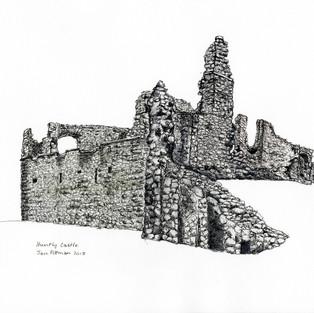 Jan Pittman  'Huntly Castle'