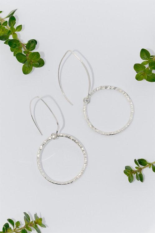 Sarah Munnings Silver earrings