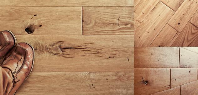 podłogi postarzane podłogi dębowe