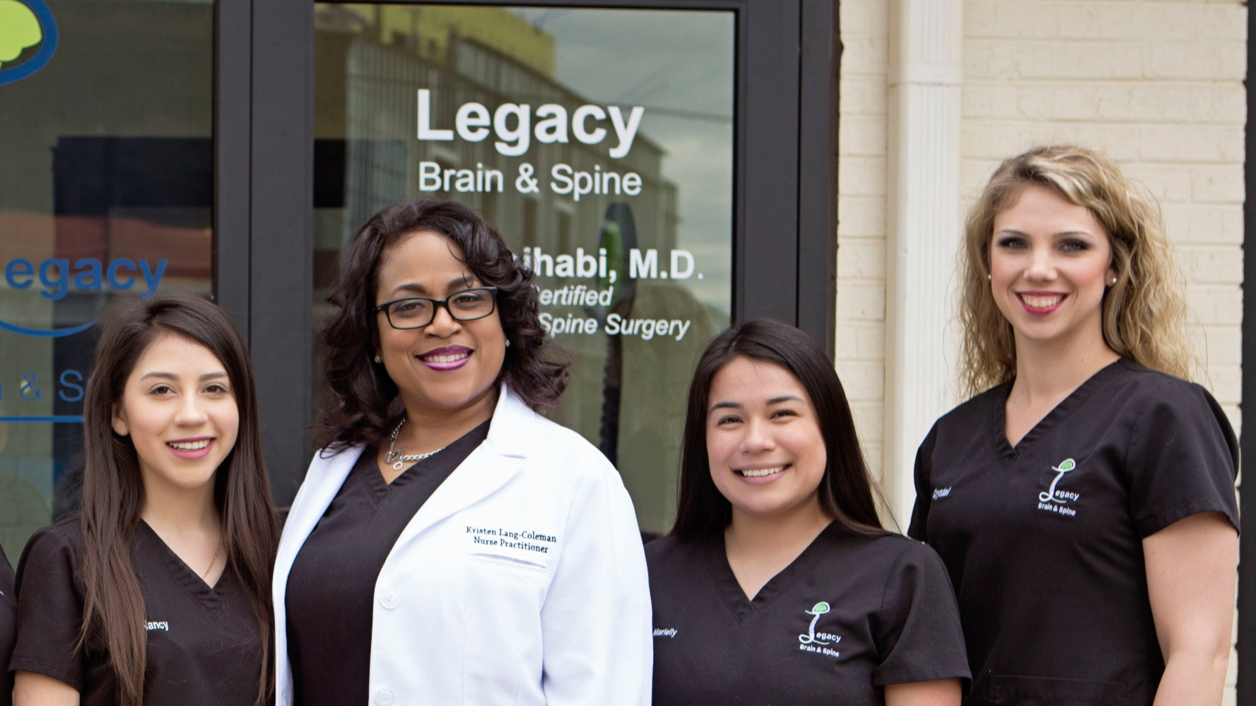 Legacy Brain & Spine Staff