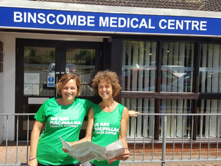Help Us Raise Money for Macmillan Cancer Support