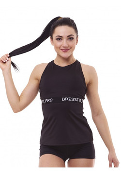 T-Shirt POWER black vorne