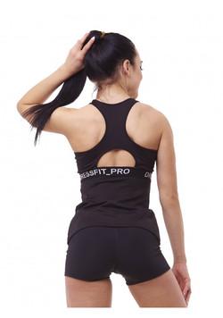 T-Shirt POWER black hinten